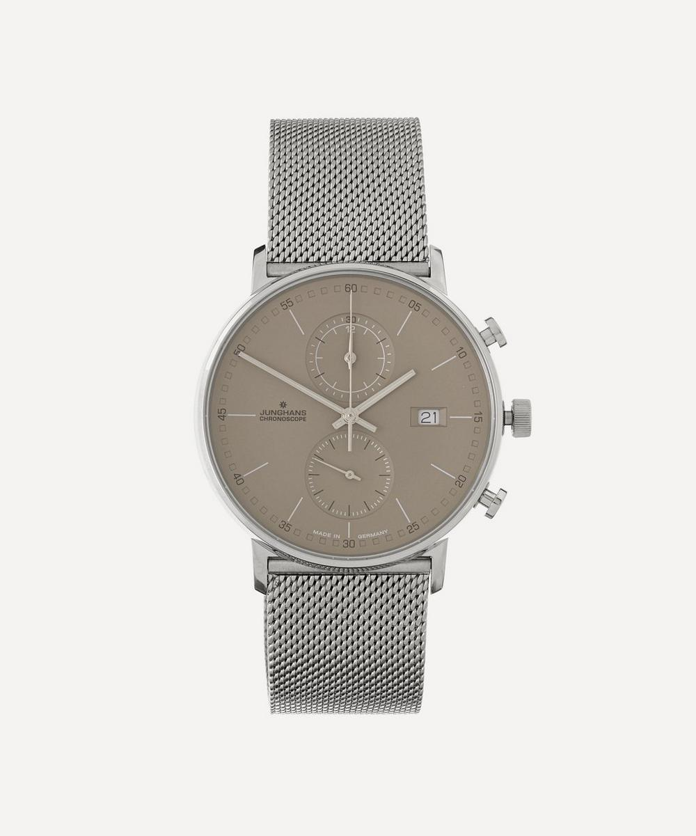 JUNGHANS FORM 39MM MILANESE STRAP WATCH