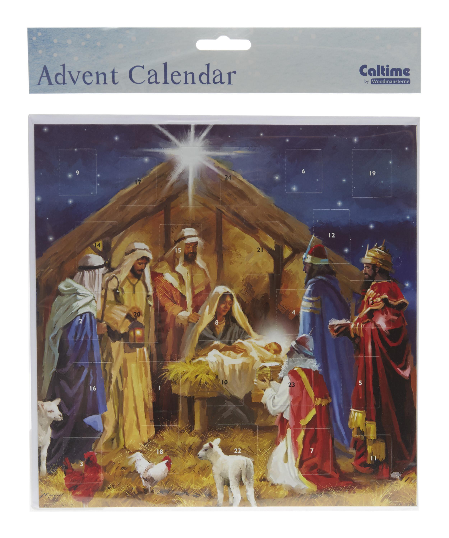 Nativity Card Advent Calendar Liberty London