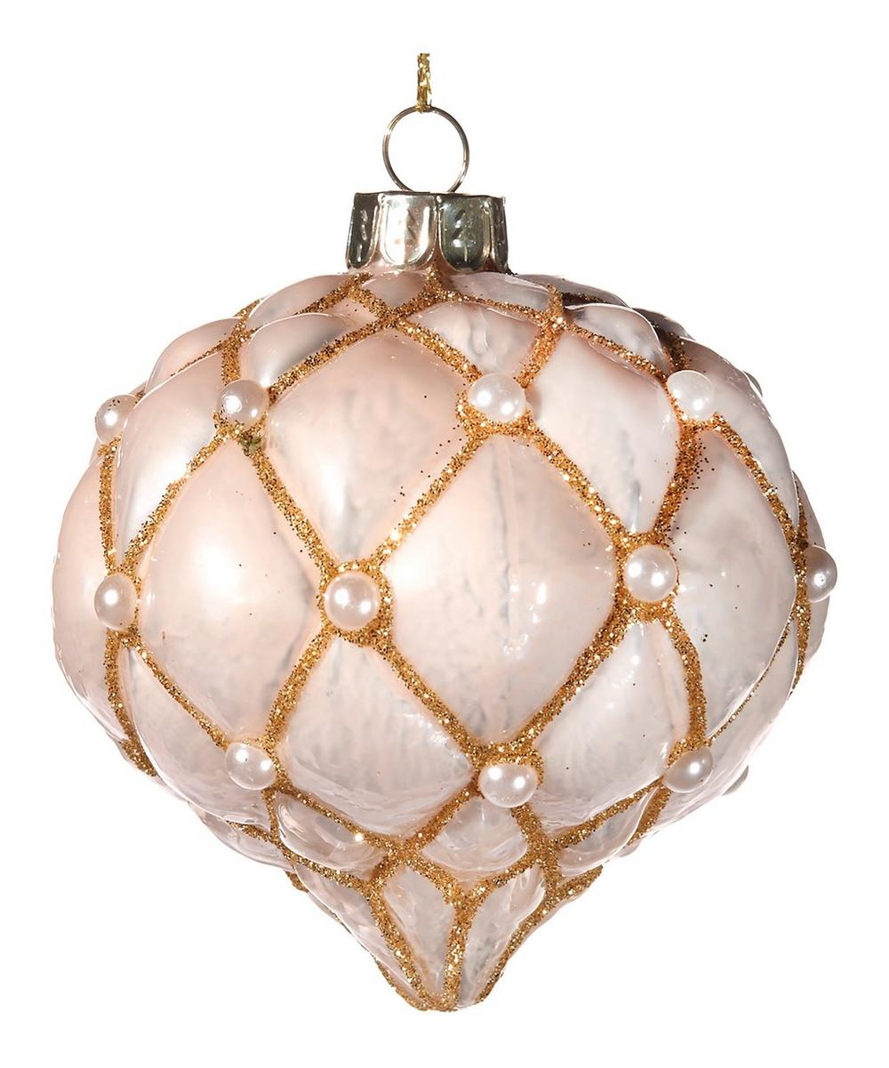 Pearly Onion Bauble