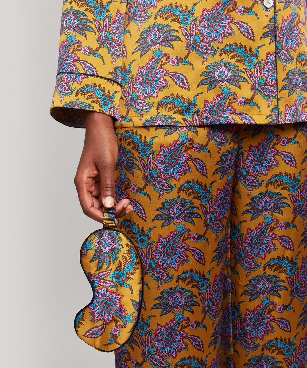 Florence Leontine Silk Satin Long Pyjama Set