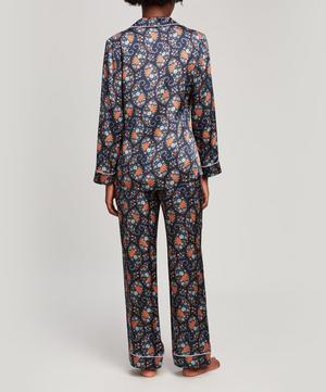 Florence Evelyn Silk Satin Long Pyjama Set