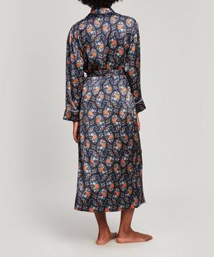 Florence Evelyn Silk Satin Long Robe