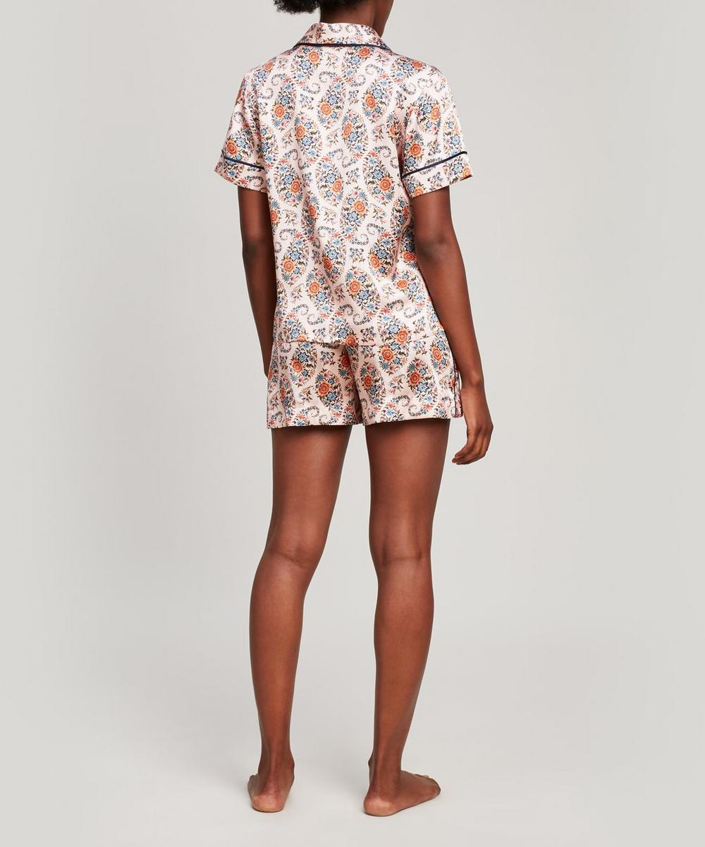 Florence Evelyn Silk Satin Short Pyjama Set