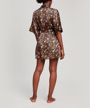 Florence Delilah Silk Satin Short Kimono