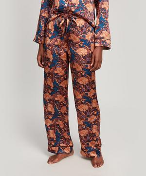 Florence June Silk Satin Long Pyjama Set