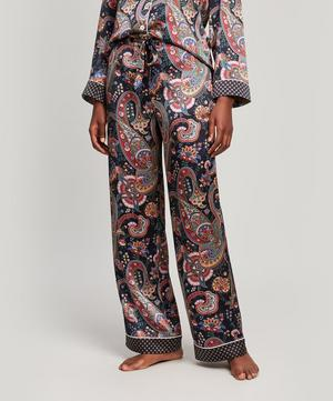 Florence Silk Satin Long Pyjama Set
