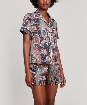Florence Silk Satin Short Pyjama Set