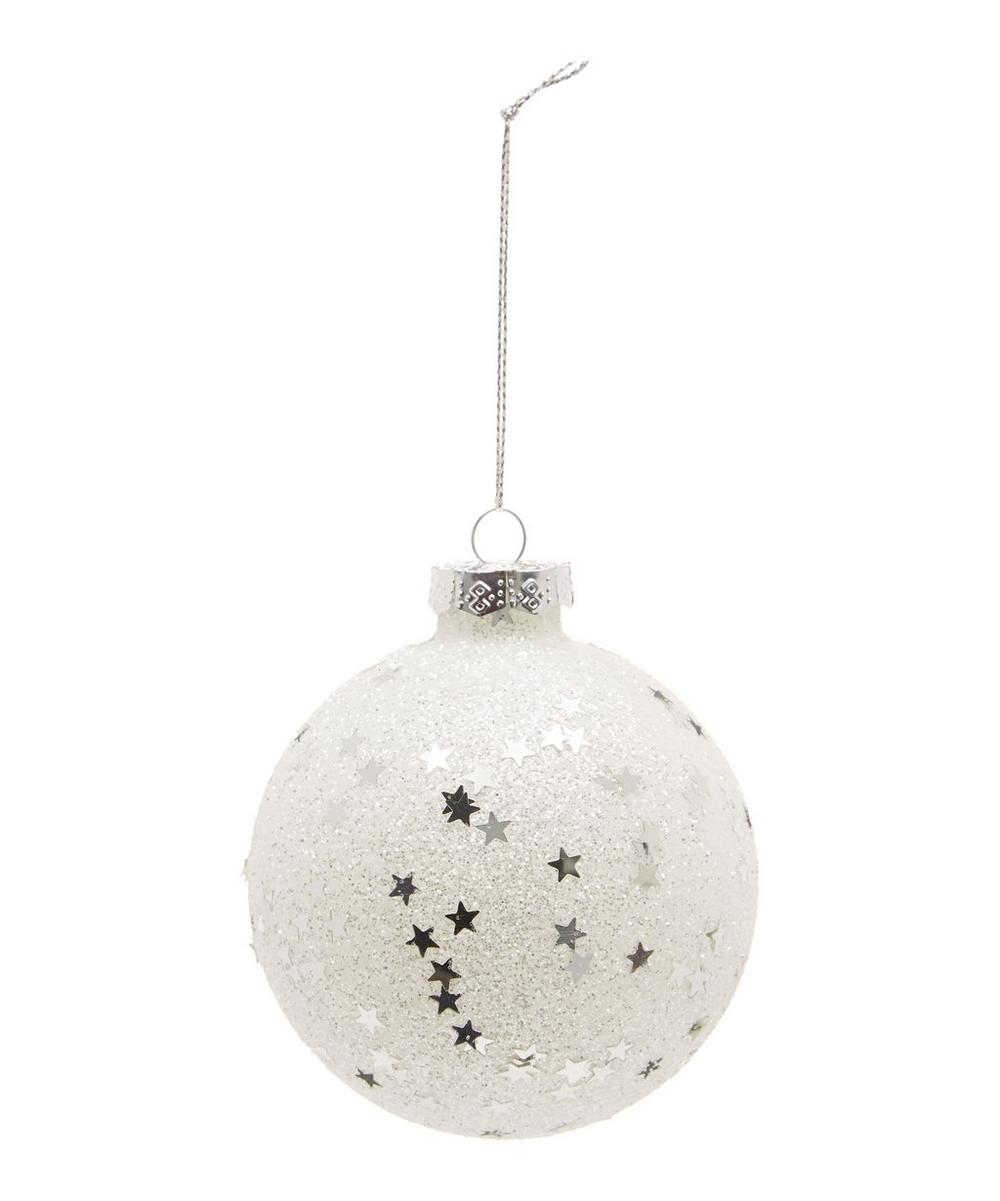 Frosted Star Bauble