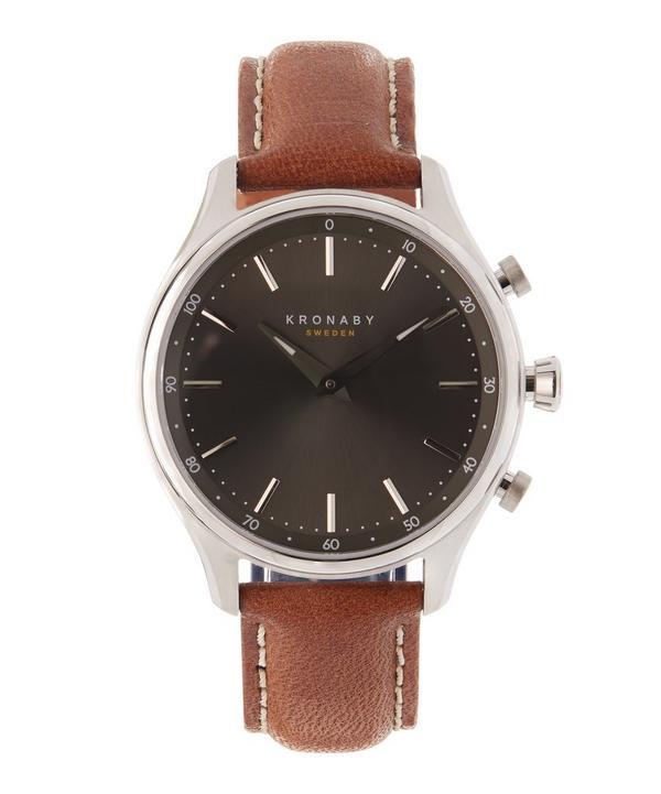 Sekel Leather Smart Watch