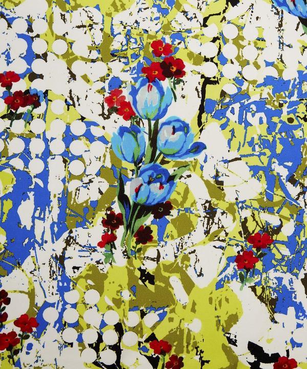 Graffiti Tulip Synthetic-Silk