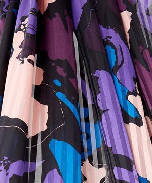 Artistic Stripe Silk