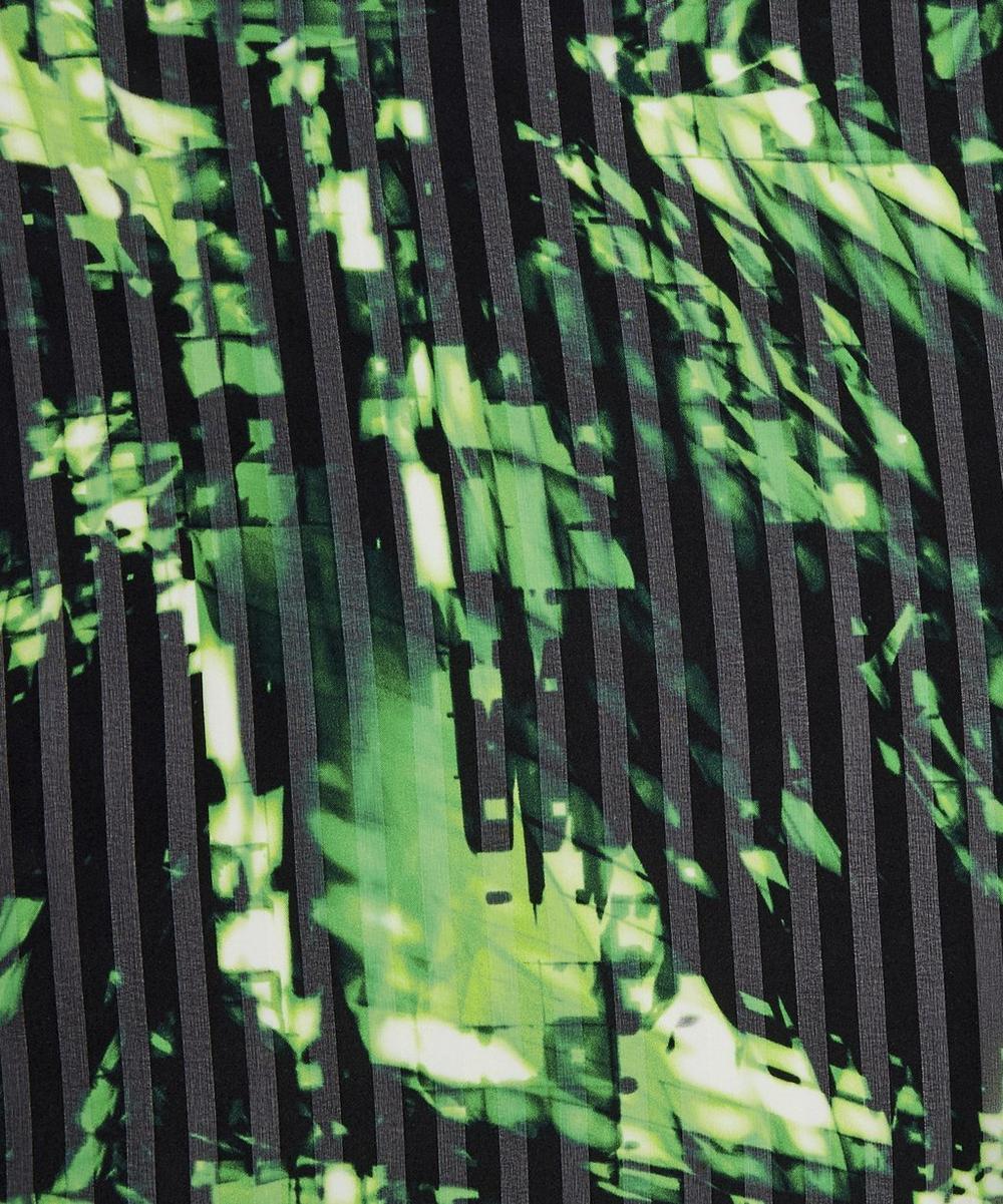Tie Dye Silk, Green