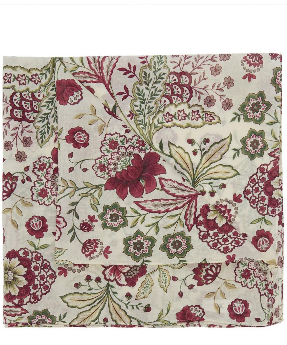 Large Floral Cotton Handkerchief