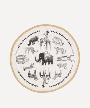 Safari Print Organic Cotton Play Mat