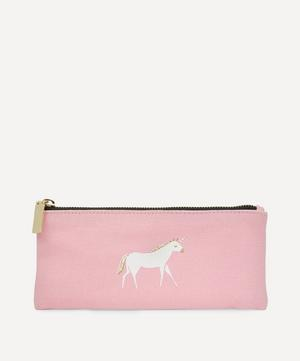 Paper Poetry Rose Unicorn Pencil Case