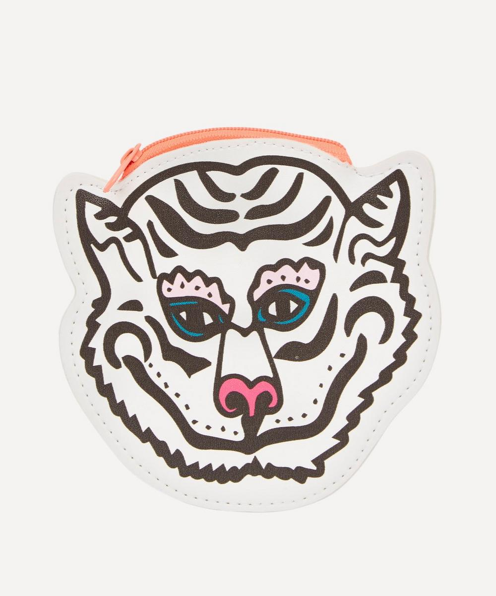 PAPER POETRY WHITE TIGER PURSE
