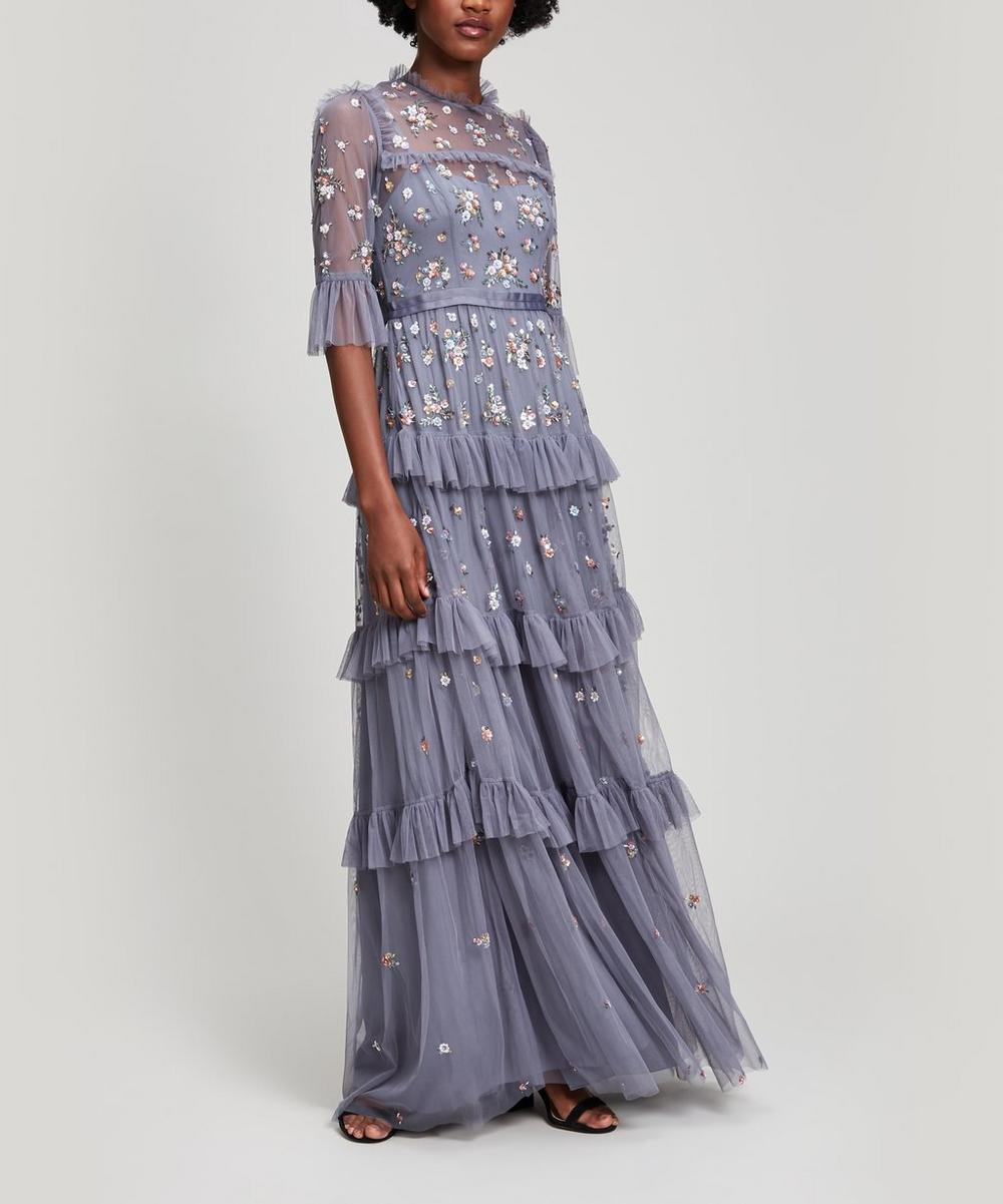 Needle & Thread LUSTRE BUTTERFLY MAXI GOWN