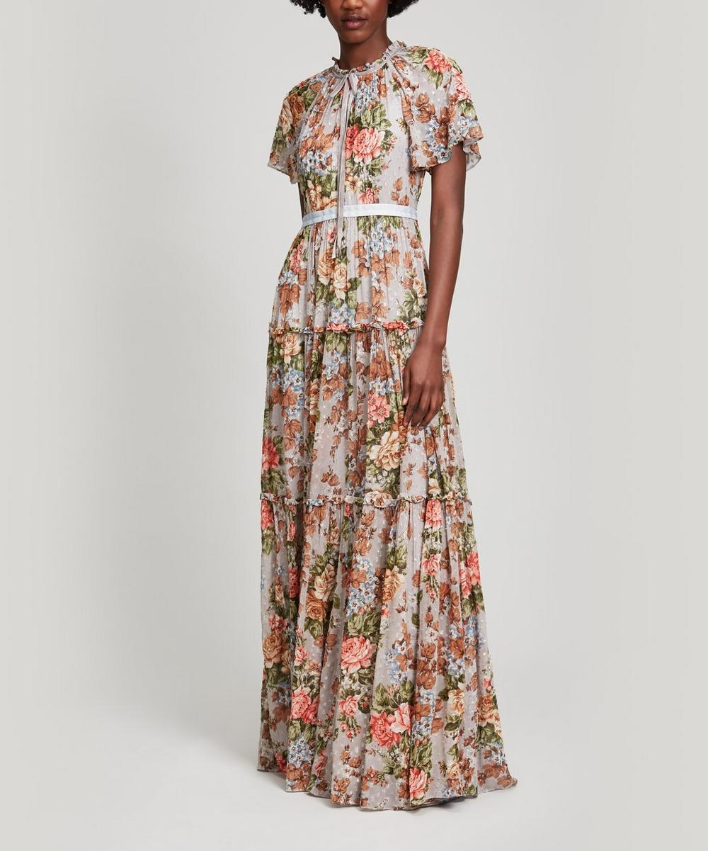 Paradise Rose Maxi Gown