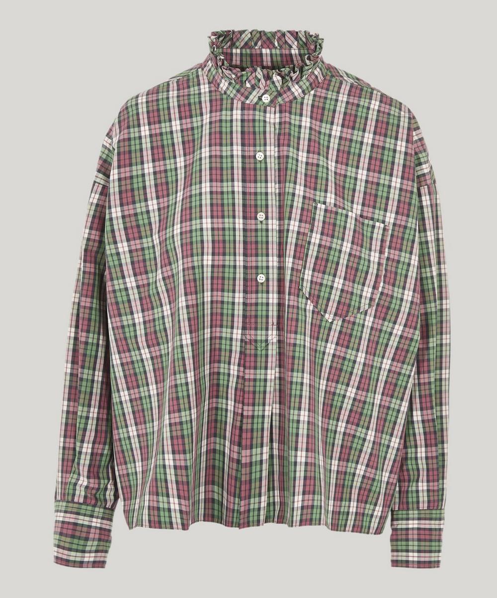 Olena Check Shirt