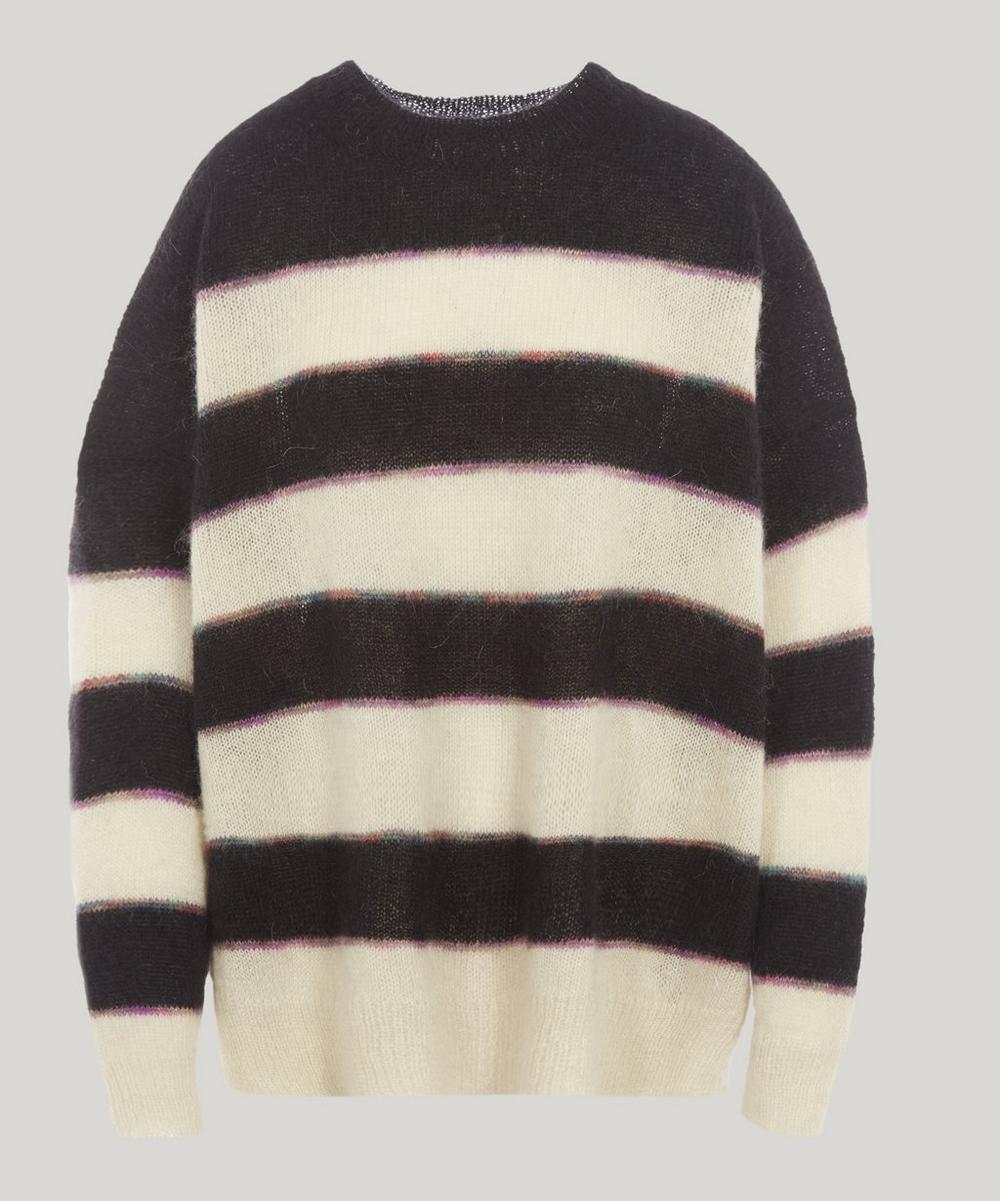 Reece Striped Mohair-Blend Jumper