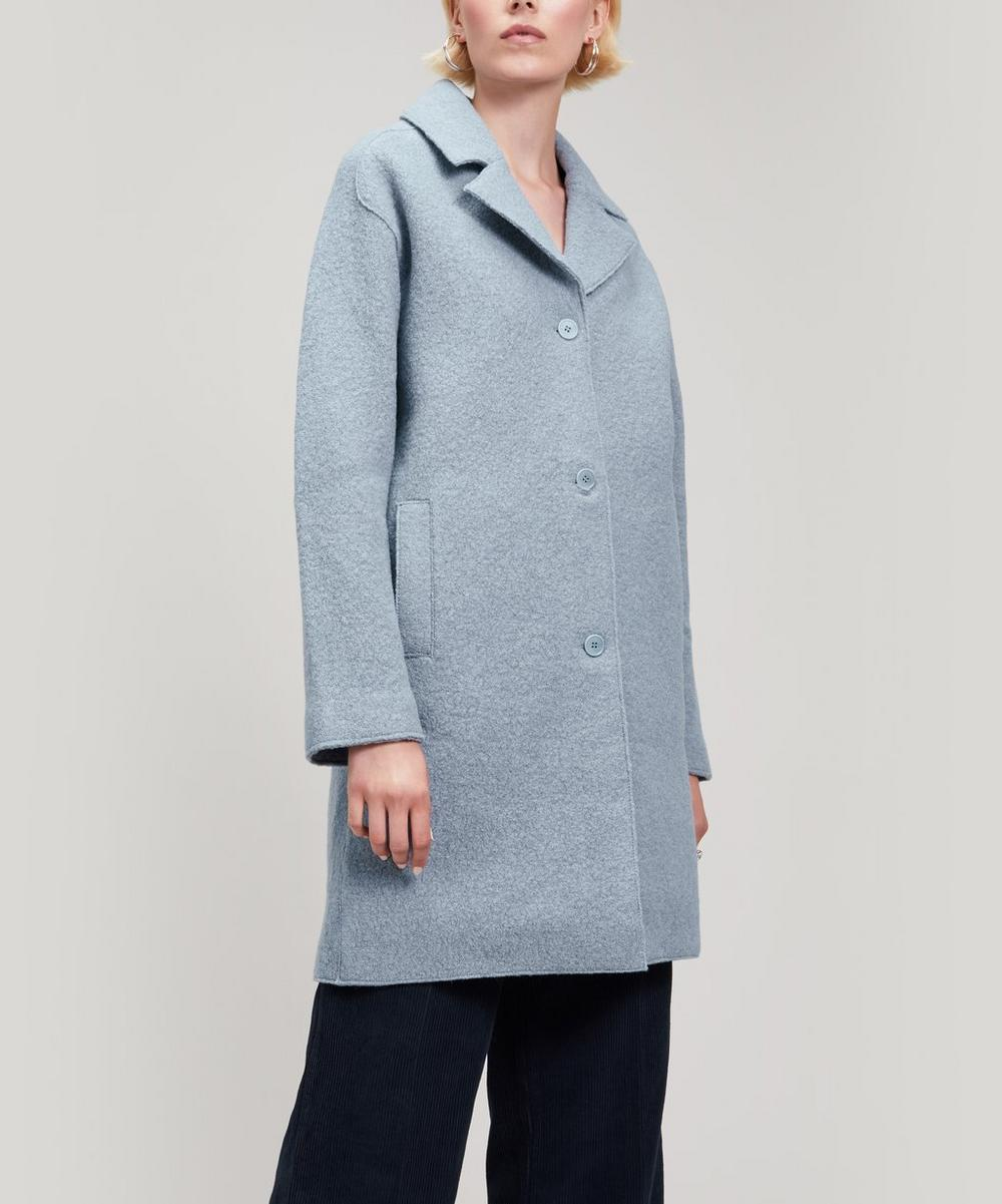 YMC YOU MUST CREATE HEROES WOOL COAT