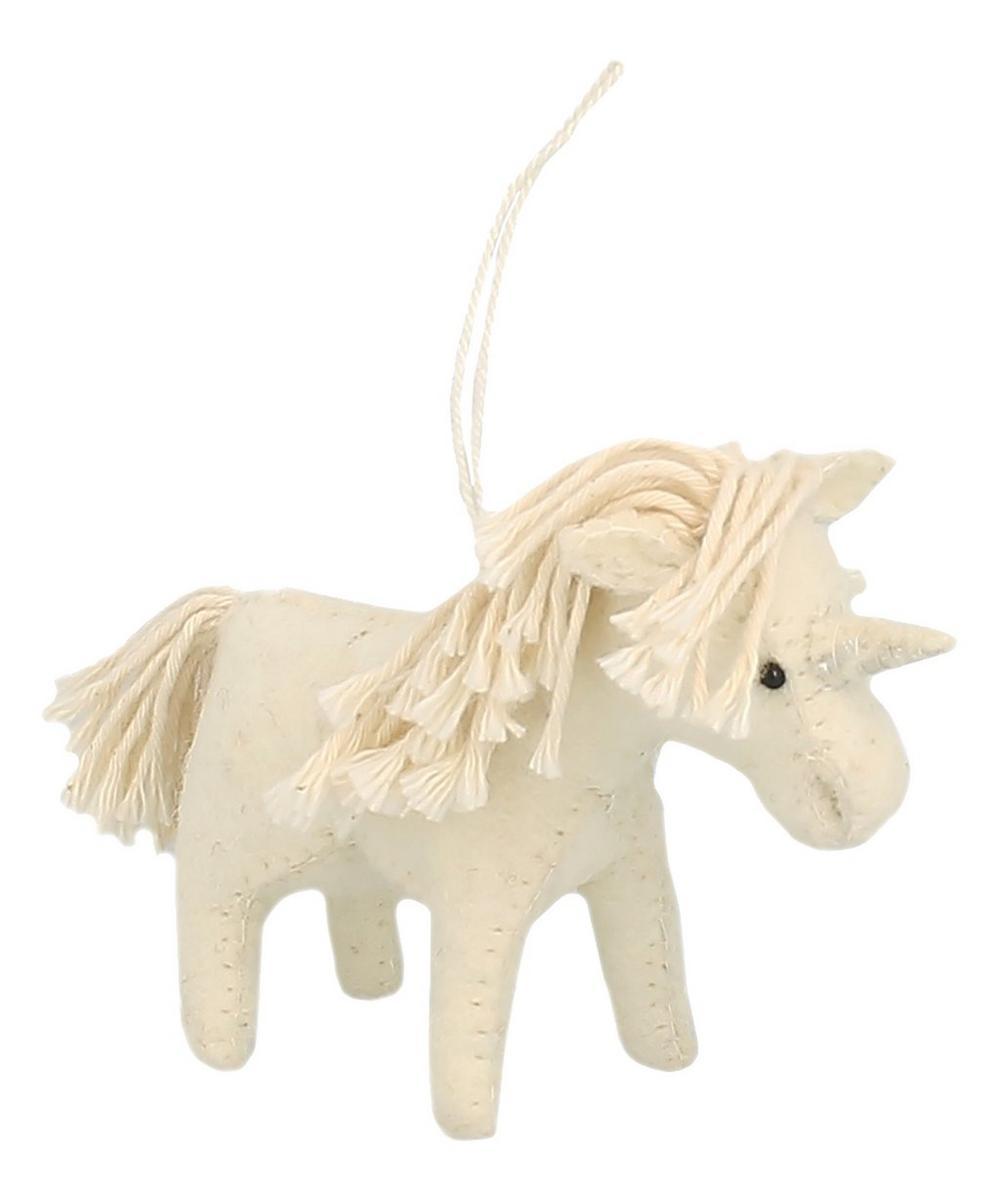 Felt Unicorn Decoration