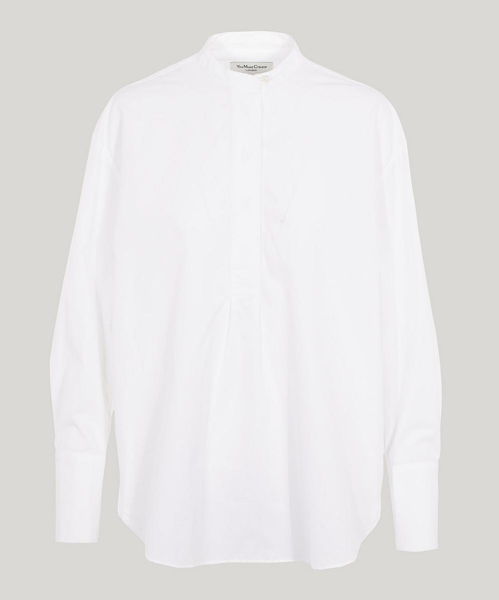 YMC YOU MUST CREATE DOROTHY COTTON POPLIN SHIRT