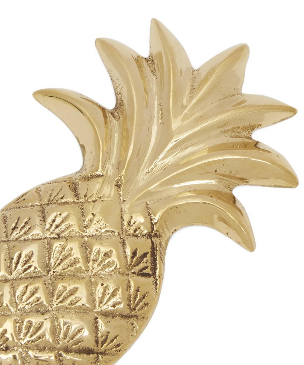 Brass Pineapple Bottle Opener