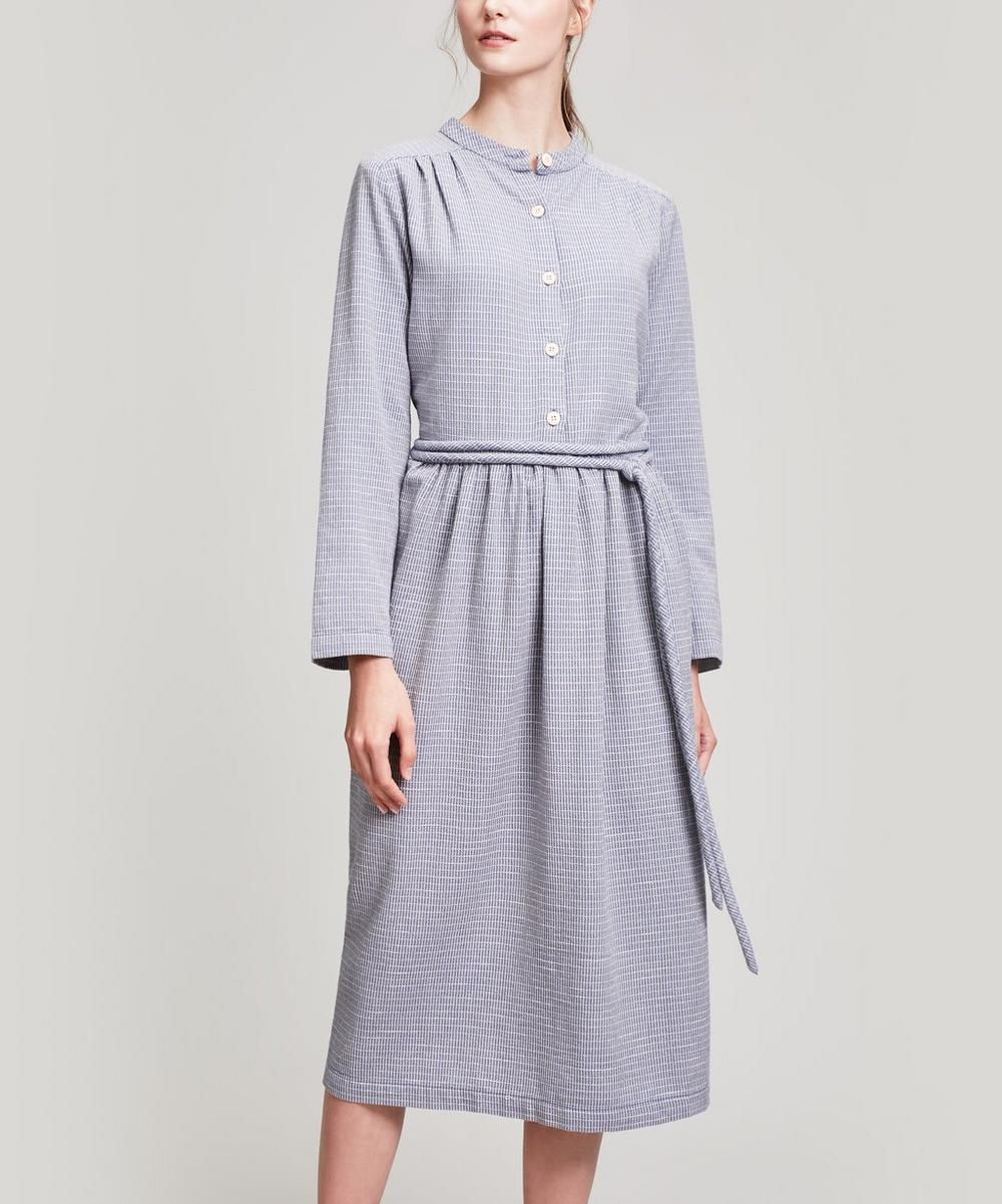ACE AND JIG GRACE BUTTON-UP MAXI DRESS