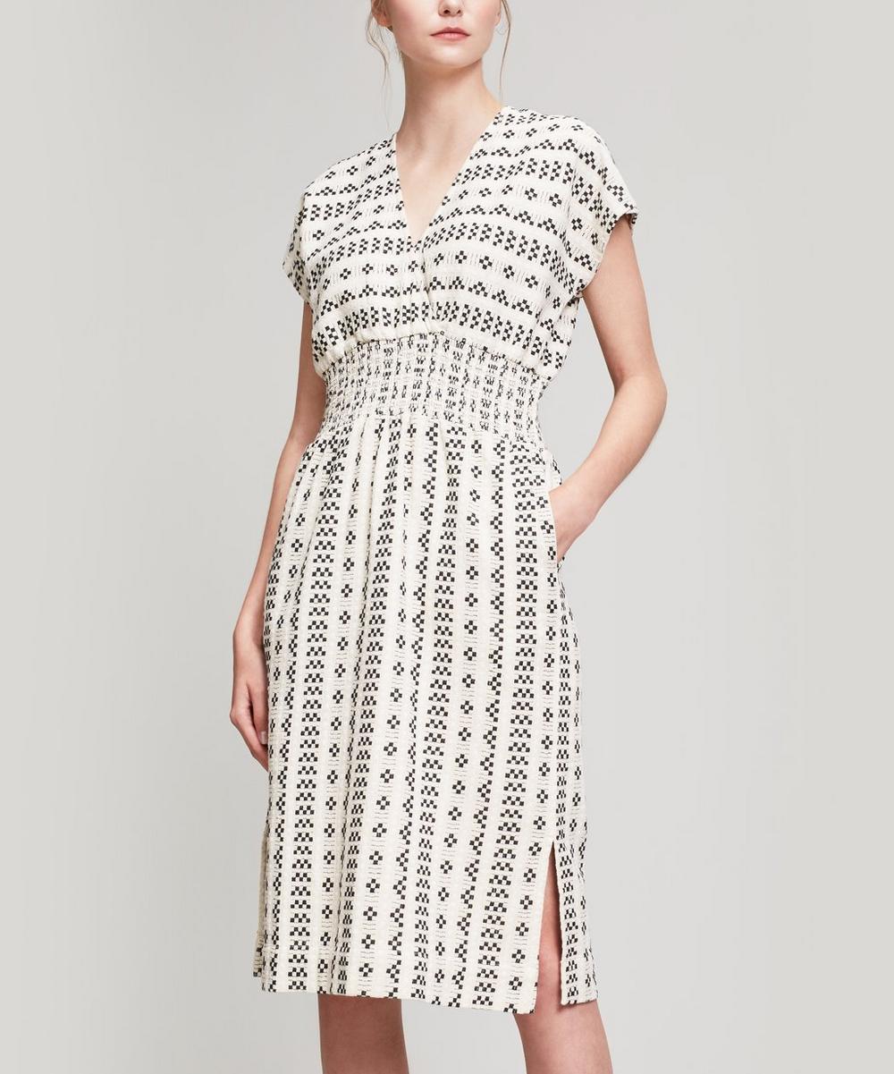 ACE AND JIG Clove Cotton Dress, Beige