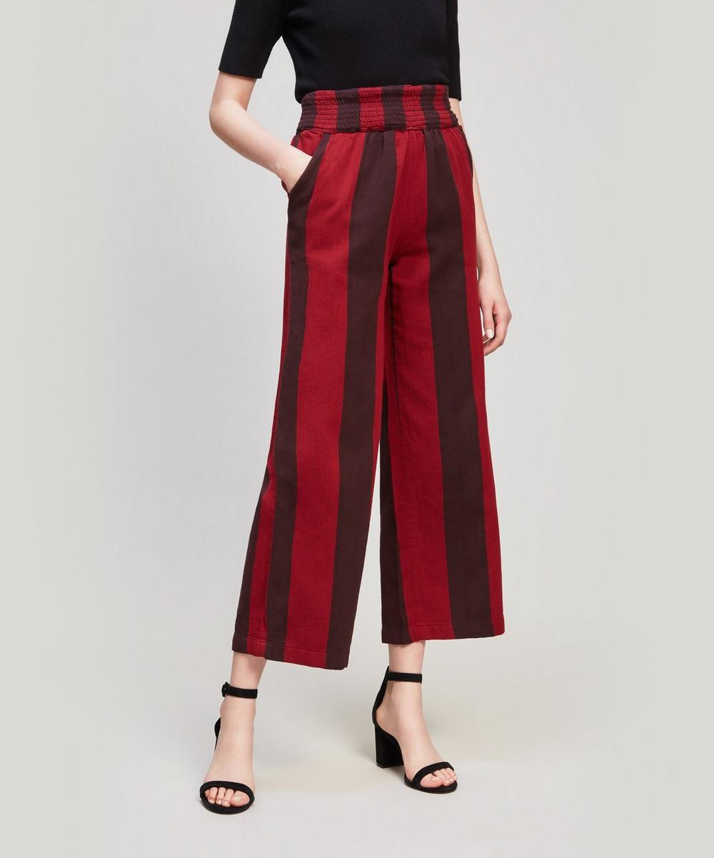ACE AND JIG Siesta Cotton Pant in Passion