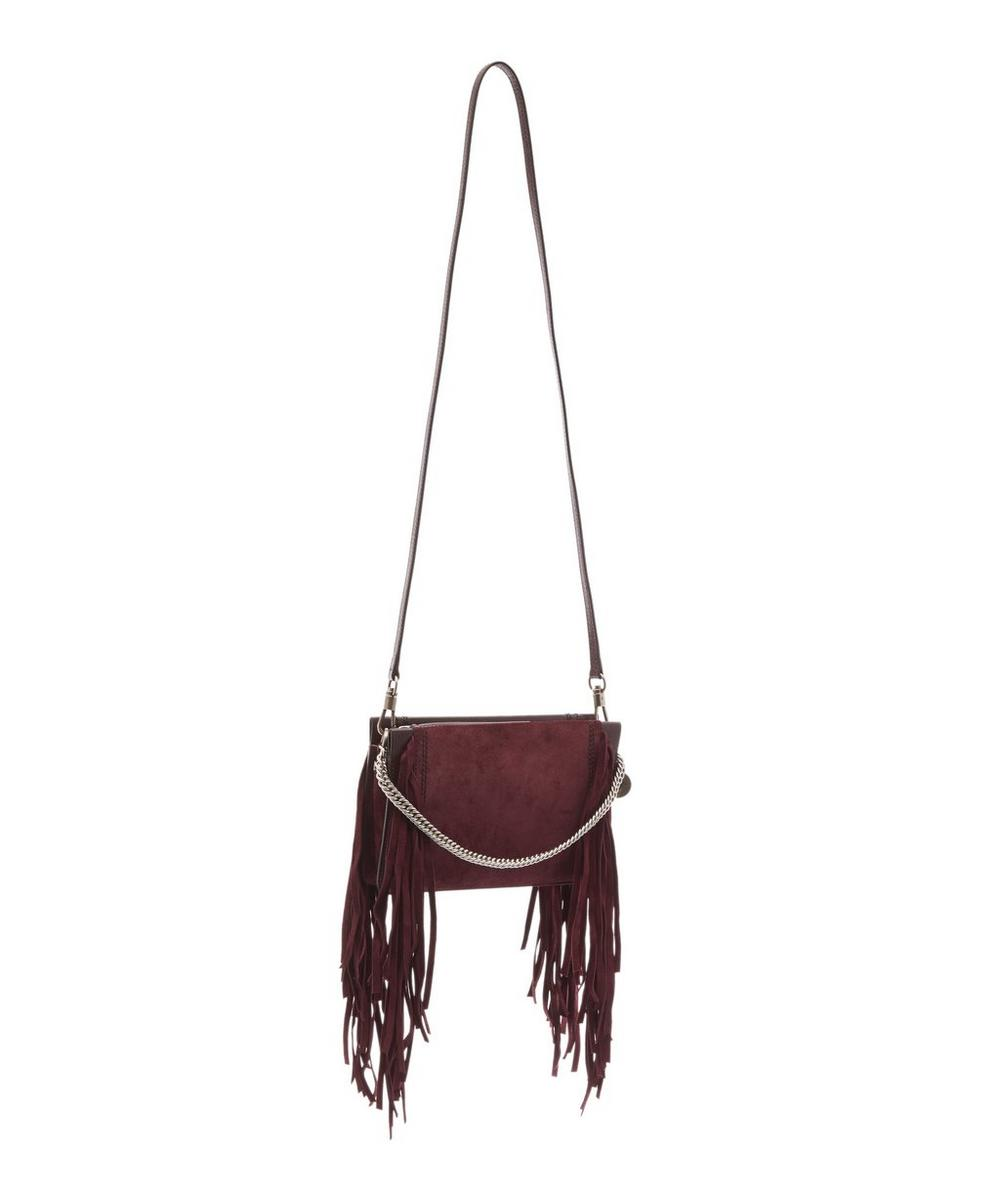 a3c6dc50ce6 Cross3 Leather and Suede Fringed Cross-Body Bag   Liberty London