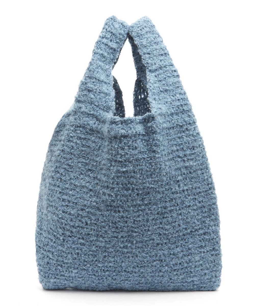 KARAKORAM ORCO KNITTED SHOPPER BAG