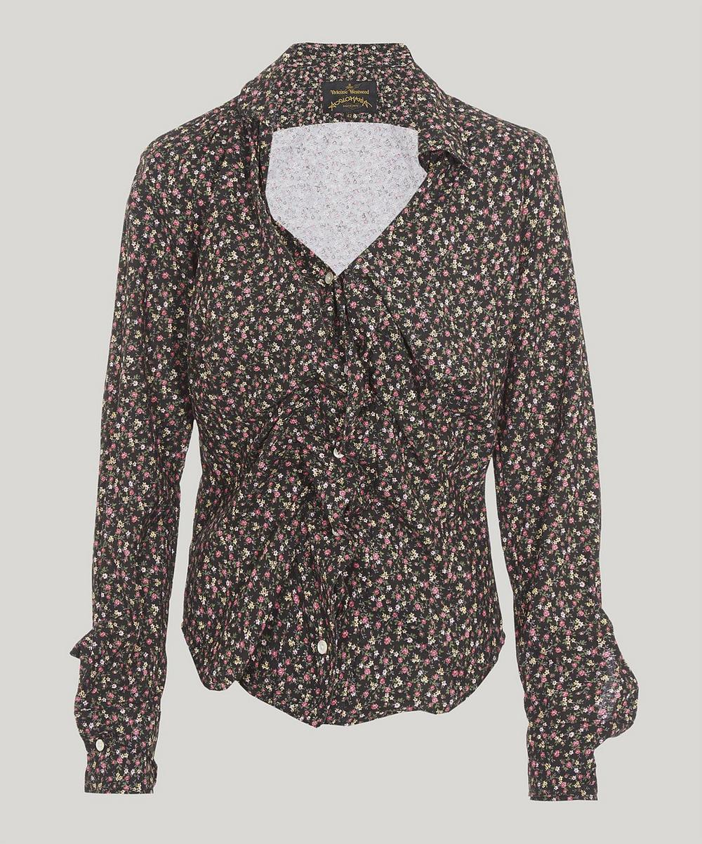ANGLOMANIA BY VIVIENNE WESTWOOD Alcoholic Shirt in Black