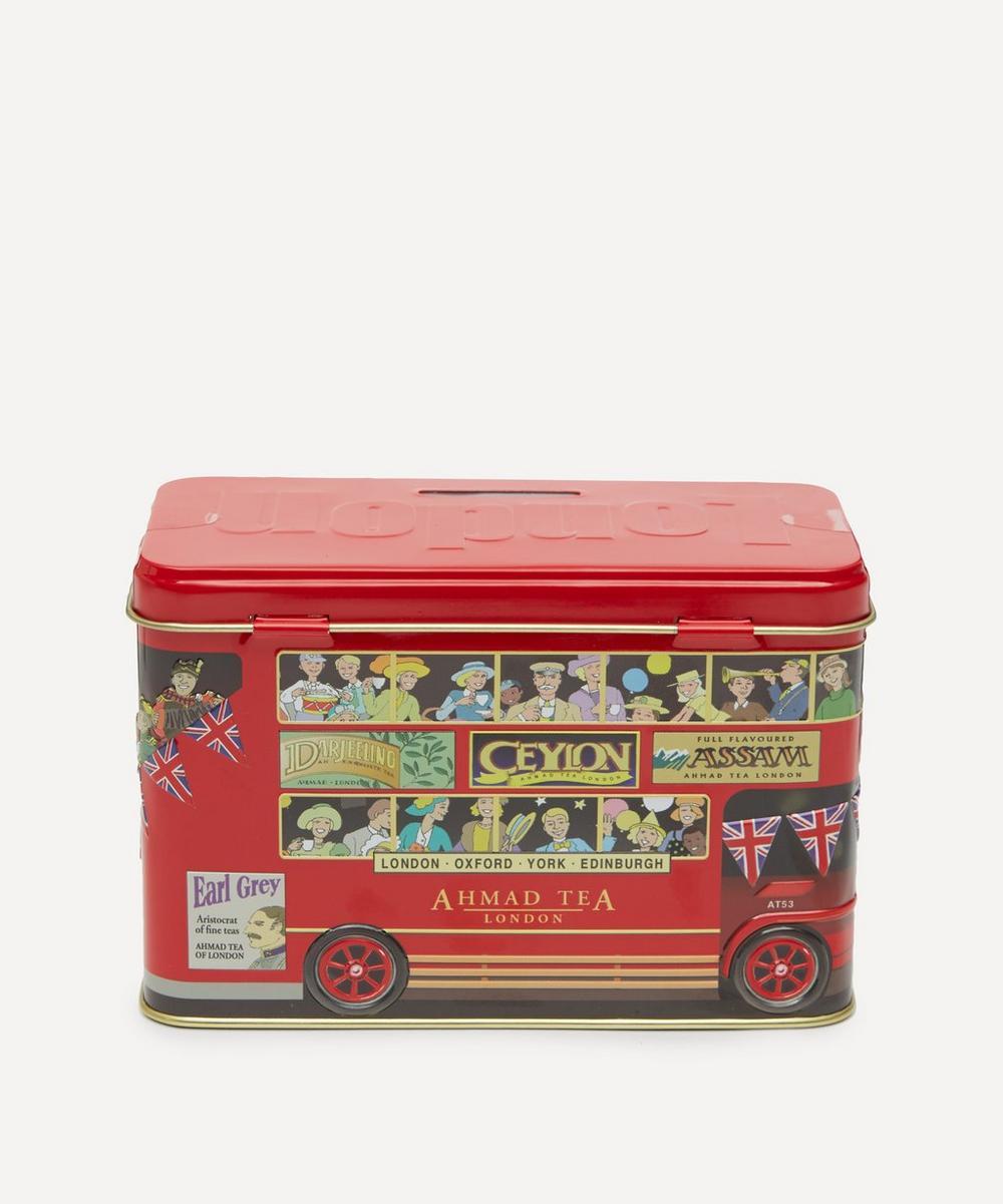 Ahmad Tea - London Bus Money Box Tea Caddy 40g