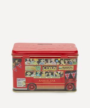 London Bus Money Box Tea Caddy 40g
