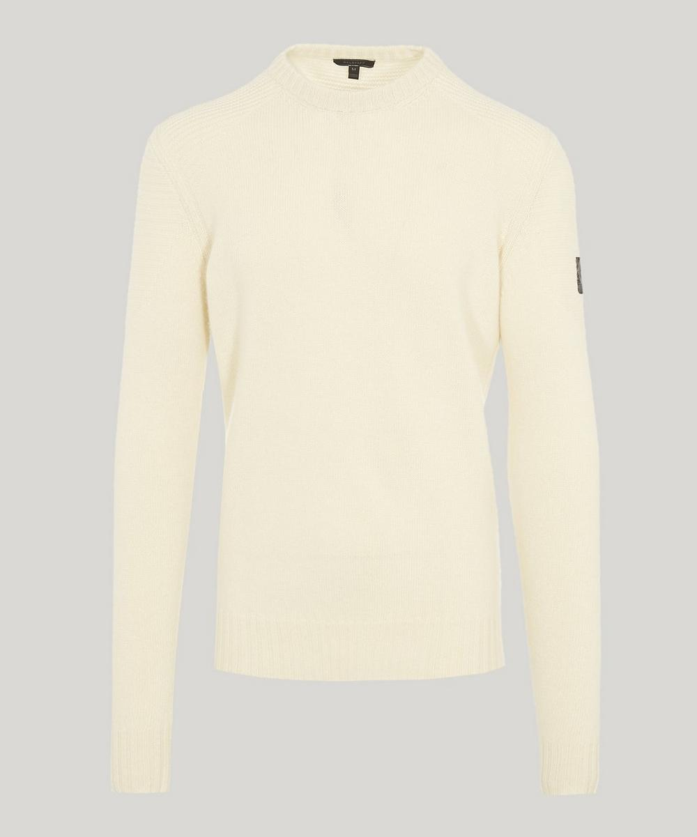 BELSTAFF SOUTHVIEW WOOL AND CASHMERE KNIT SWEATER