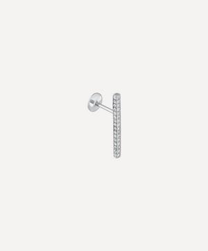Pavé Diamond Bar Earring