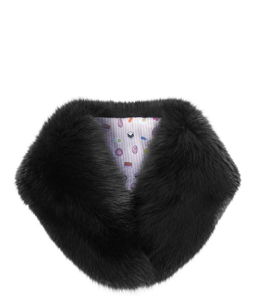 Faux Fur Princess Collar