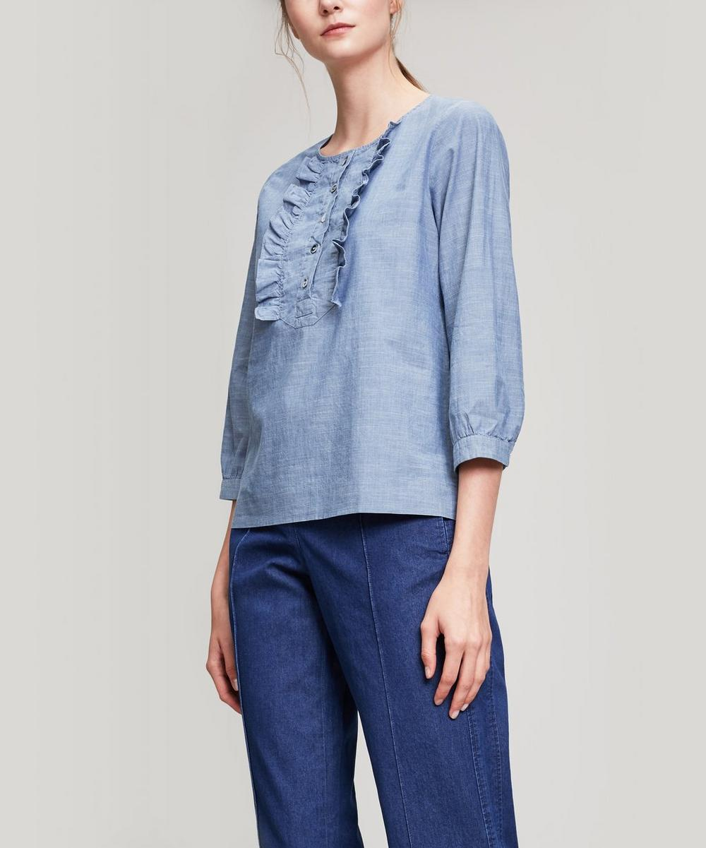 CLEO FRILL BLOUSE