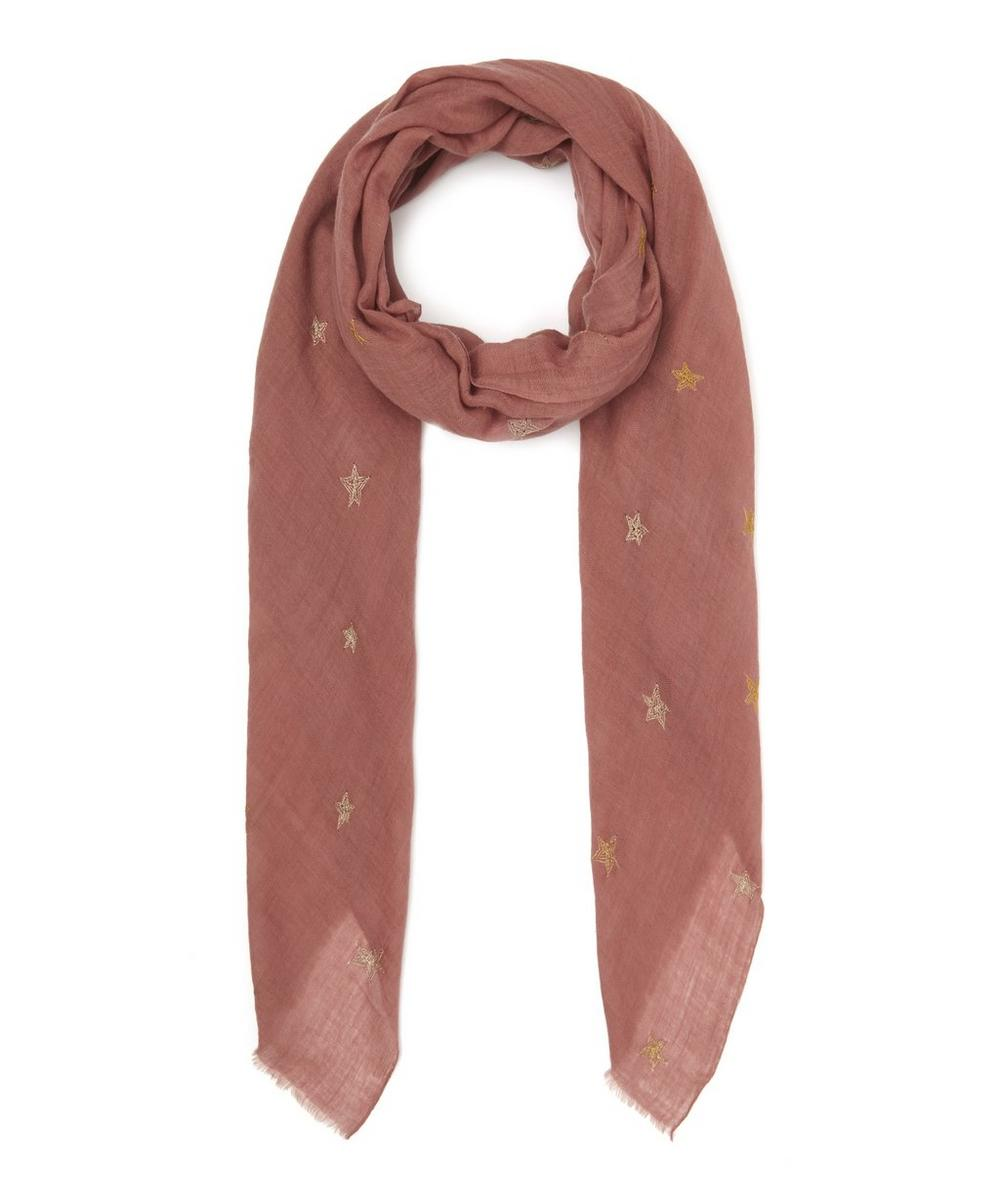 LILY AND LIONEL THE BRIGHTEST STAR CASHMERE SCARF