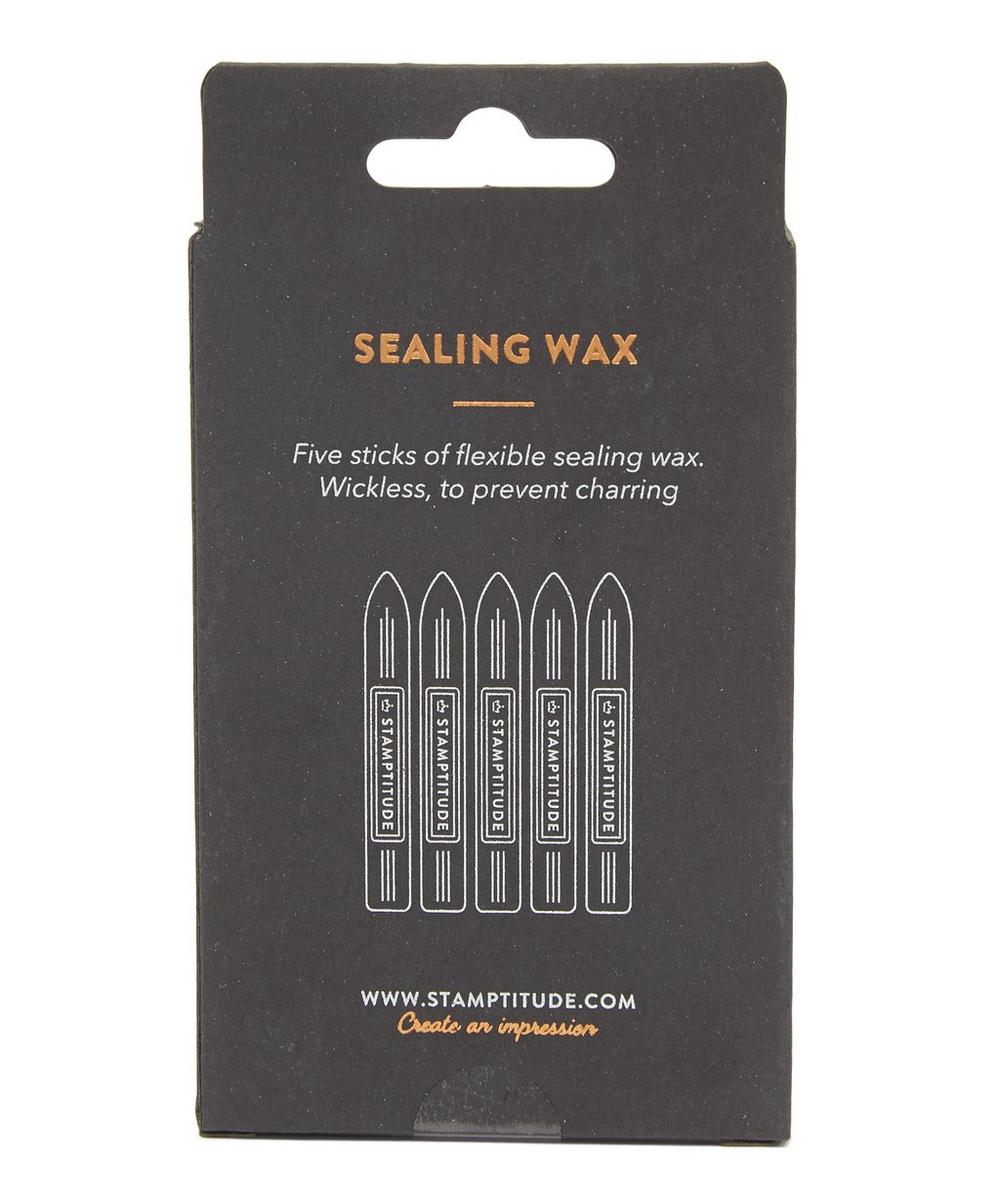 Terracotta Sealing Wax Pack of Five