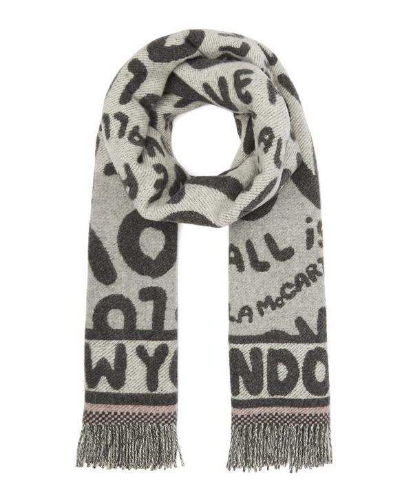 All is Love Wool-Blend Scarf