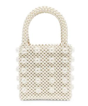 Antonia Faux Pearl Bag