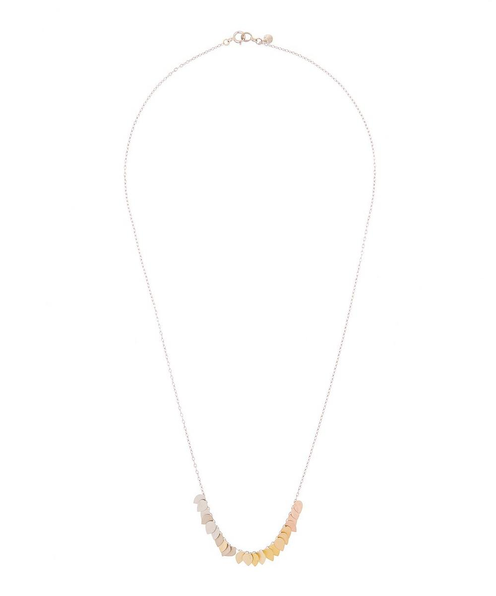 SIA TAYLOR GOLD RAINBOW NECKLACE
