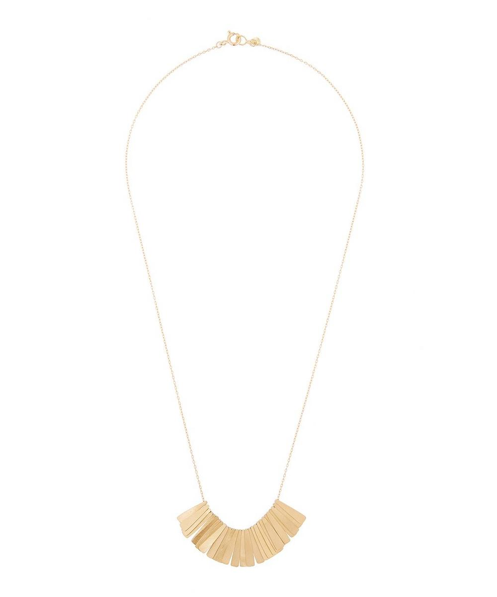 SIA TAYLOR GOLD SUN RAY NECKLACE