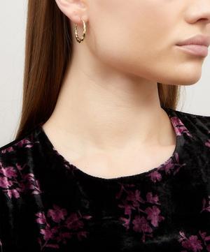 Gold-Plated Sadie Hoop Earring