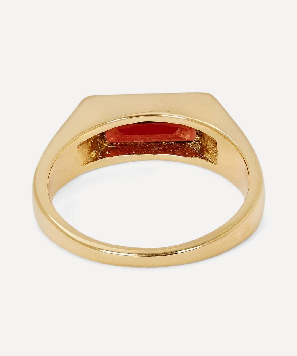 Gold Harald Signet Ring Small-Medium