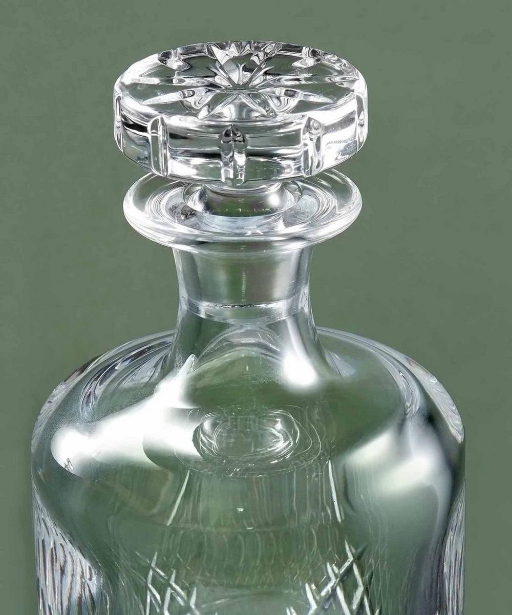Small Barwell Cut Crystal Decanter