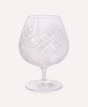 Barwell Cut Crystal Brandy Glass